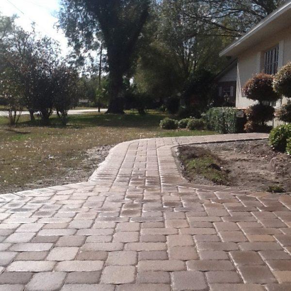 sidewalk pavers in orlando