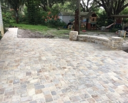 New Paver Patio in Mims